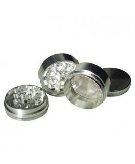 Metallgrinder mit Sieb Silber Ø:40mm