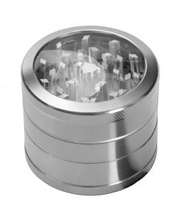 Metallgrinder mit Sieb ClearView Ø:50mm
