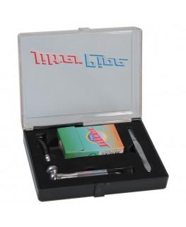Metallpfeife Jilter grau L:85mm