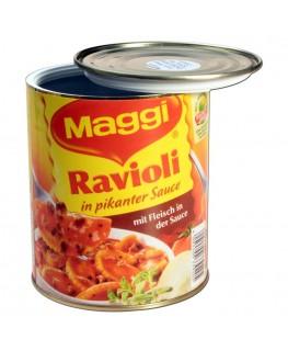 Geheimversteck Maggi Ravioli
