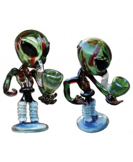Glaspfeife G-Spot Alien 170x60x100mm