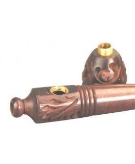 Holzpfeife/Kawumm verziert Slim L:98mm