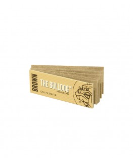 The Bulldog Brown Filtertips schmal