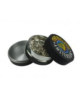 Metallgrinder mit Sieb The Bulldog schwarz Ø:40mm