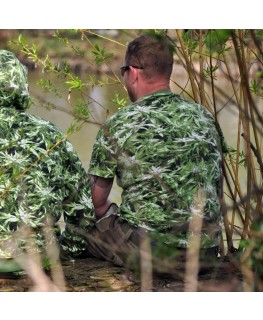 Camouflage T-Shirt  Cannabis