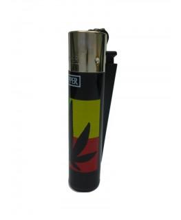 Clipper Feuerzeug Warhole Leaf