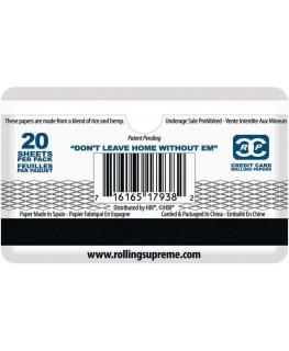 Kreditkarten Papers 1 1/4 Size