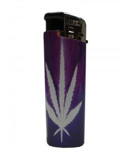 Feuerzeug Cannabis Purple