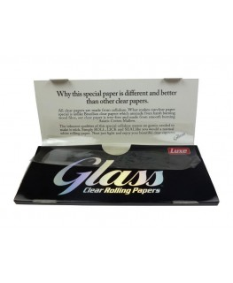 Glass transparent King Size Slim