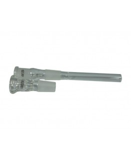 Glasbong 18,8 G-Spot Zylinder Eis H:40cm D:50mm W:3,5mm