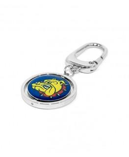 The Bulldog Schlüsselanhänger Spin Logo