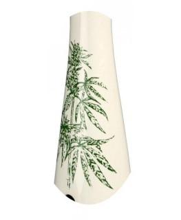 Keramik Hollandbong Hanfpflanze H:39cm