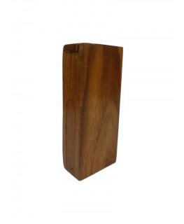 Mini-Holzpfeife Holzbox H:8,3cm