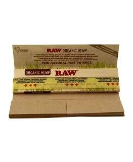 RAW Connoisseur Organic Hemp King Size Slim