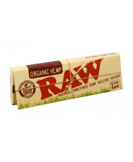 RAW Organic Hemp 1 1/4 Size