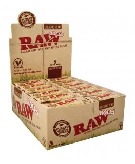 RAW Rolls Organic Hemp 5m