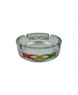 Glas-Aschenbecher RooR Rasta
