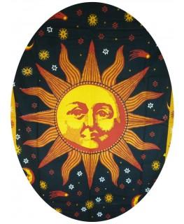 Wandtuch Sonne