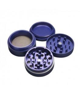 Metallgrinder mit Sieb blau Ø:50mm