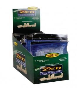 Eindrehfilter Zen Slim 6mm Menthol