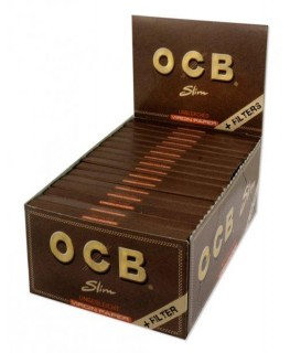 OCB unbleched King Size Slim + Filtertips