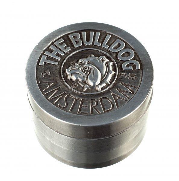 "The Bulldog Amsterdam ""Metallgrinder mit Sieb"" 4-teilig, Magnet & Ø:50mm"