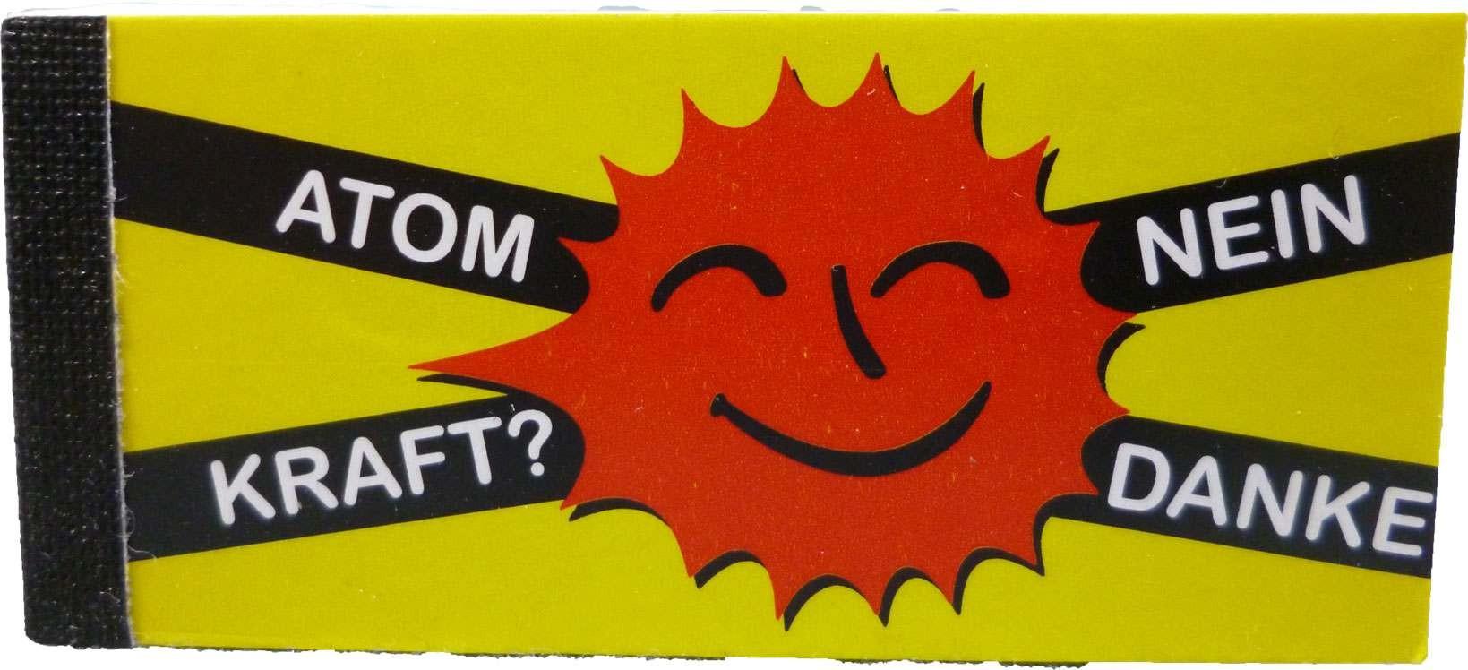 Anti Atom Filtertips/Jointfilter; Motiv: Atom Kraft Nein Danke!