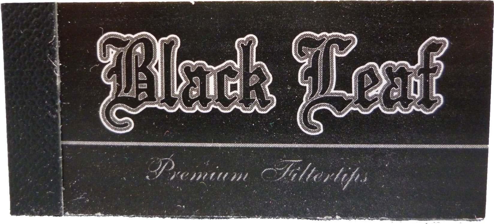 """Black Leaf """"Filtertips/Jointfilter"""" breit 25x50mm perforiert (Geschlossen)"""