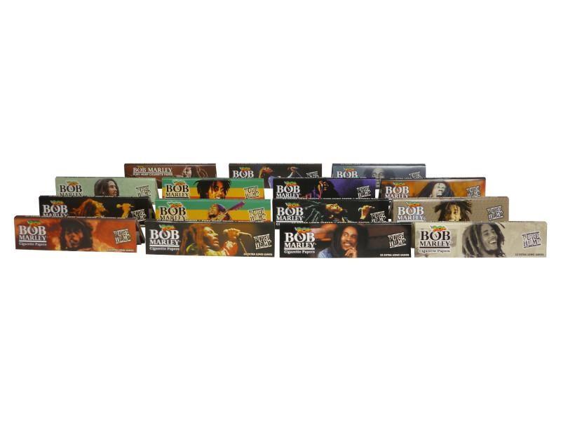 Bob Marley Hemp King Size 15 verschiedene Motive Ansicht 1