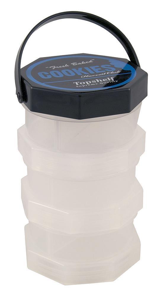 Cookies Box - L in transparent & Geruchsdicht. Durchmesser: 91mm. Höhe: 14,5cm