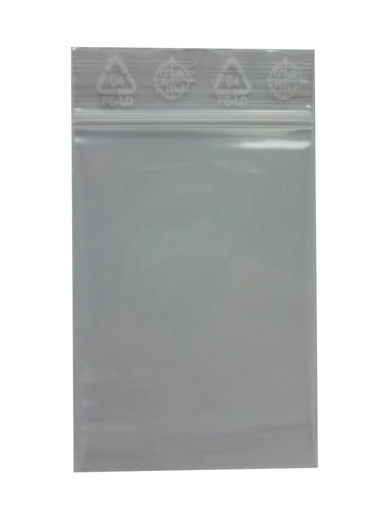"""""""Druckverschlussbeutel/Packs/Zip-Beutel"""" in 40x60x0.05mm Klar"""