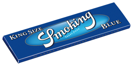 Smoking Blau King Size Blättchen/Papers