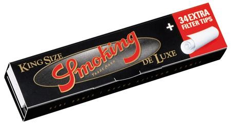 Smoking Deluxe King Size Slim Blättchen/Papers + Special Filtertips je 33 stk.