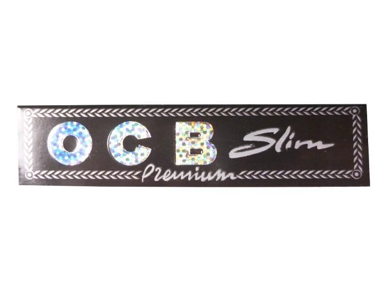 OCB Premium King Size Slim 109mm x 44mm (Frontansicht geschlossen)