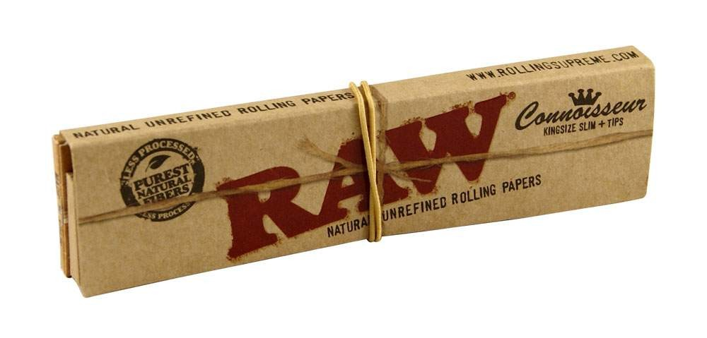 RAW King Size Slim Connoisseur Einzel