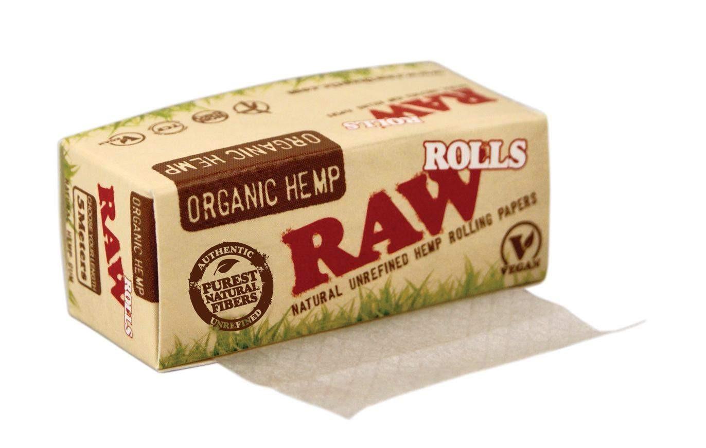 RAW Rolls Organic Hemp