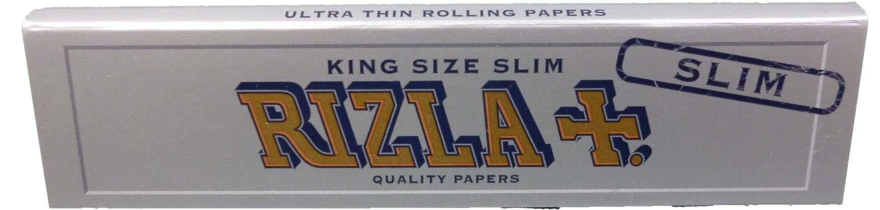 """RIZLA"" Silver King Size extra Slim & ultra dünne ""Blättchen/Papers"""