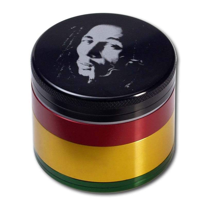 metallgrinder mit sieb bob marley 50mm 4 teilig online kaufen. Black Bedroom Furniture Sets. Home Design Ideas