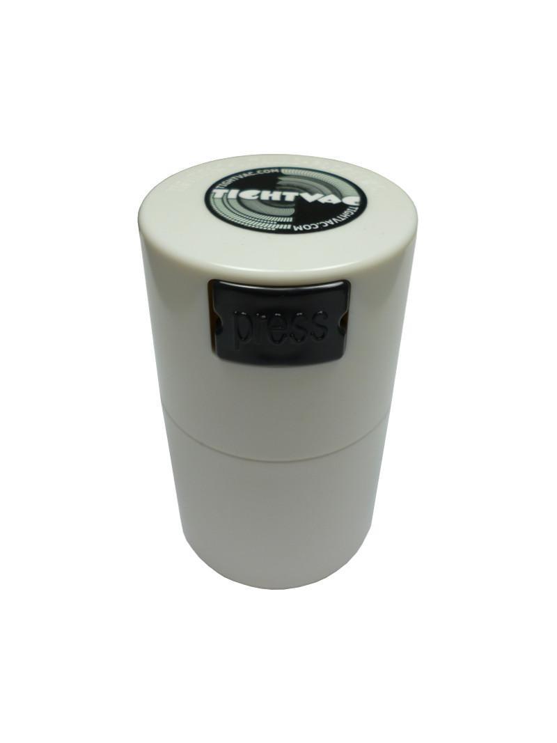 """Vakuum Dose - """"Tightvac"""" 0,06l Volumen und Farbe: Weiß"""