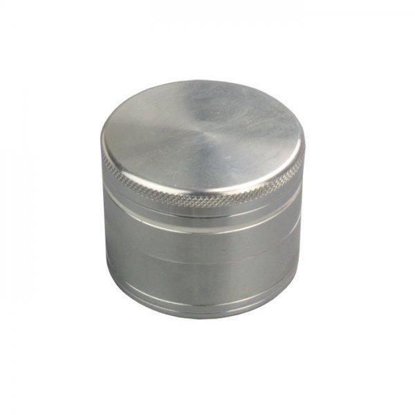 Metallgrinder mit Sieb in Silber, Magnet, Gleitring, Ø:50mm & 4-teilig