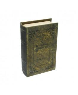 Geheimversteck Buch zum abschließen mit dem Titel: Huckelberry Fin.