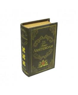 Geheimversteck Buch zum abschließen mit dem Titel: Amsterdam