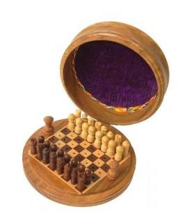 """Schachspiel rund D""""9cm"""