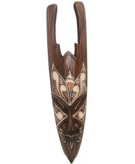 Holz-Maske Diabolo H:50cm und Handarbeit aus Bali