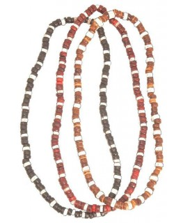 """Halsband Kokos elastisch D""""13,5cm in schwarz, rot oder braun"""