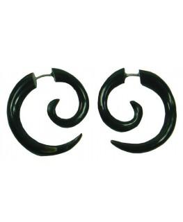 """Ohrring Spirale Blk D""""32mm"""