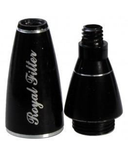 Royal Filter in schwarz für die Screen Queen (offen)