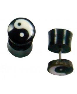 """Fake-Plugs Ying Yang D""""9mm"""