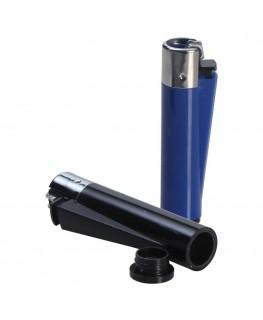 Geheimversteck Feuerzeug blau oder schwarz
