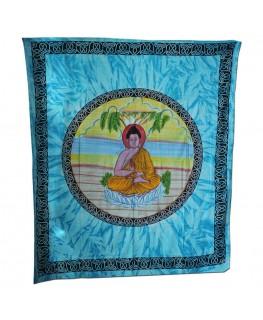 """Wandtuch/Tagesdecke"" Buddha aus 100& Baumwolle (Maße: 2,10x2,40m)"